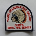Young Headquarters Brigade Chiefs Rural Fire Service