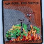 NSW Rural Fire Service Air Operations 2009 - 2010