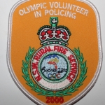 Olympic Volunteer In Policing NSW Rural Fire Service