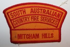 Mitcham Hills South Australian Country Fire Services