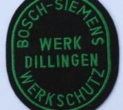 Bosh-Siemens Werk Dillingen Werkschutz