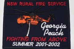 Georgia Peach NSW Rural Fire Service