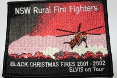 Black Christmas Fires 2001 - 2002 Elvis on Tour