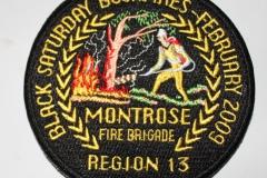Montrose Fire Brigade Black Saturdau Bushfires
