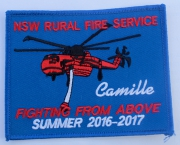 Camille NSW Rural Fire Service Summer 2016 - 2017