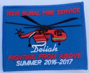Deliah NSW Rural Fire Service Summer 2016 - 2017