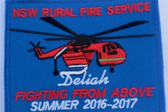 Deliah NSW Rural Fire Service Summer 2016 - 2017