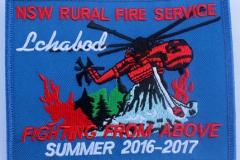 Ichabod NSW Rural Fire Service Summer 2016 - 2017