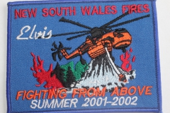 Elvis New South Wales Fires Summer 2001 - 2002