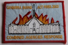 Canberra Burns ACT Fires 2003