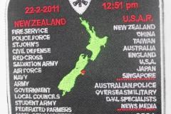 Christchurch 6.3 Quake 2001