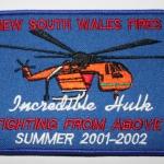Incredible Hulk New South Wales Fires