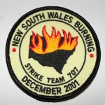 New South Wales Burning