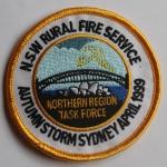 Sydney Autumn Storm 1999