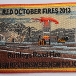 Red October Fires 2013