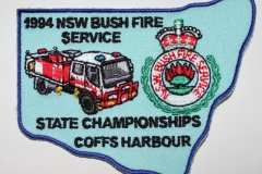Coffs Harbour 1994 NSW Bush Fire Service State Championships