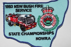 Nowra 1993 NSW Bush Fire Service State Championships