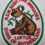 Loftus Shire Of Sutherland NSW Bush Fire Brigades