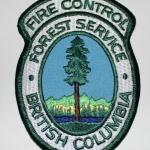 Canada British Columbia Fire Control Forest Service