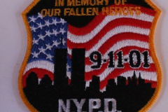 NYPD In Memory Of Our Fallen Heroes