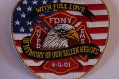 9-11-01 FDNY NYPD EMS