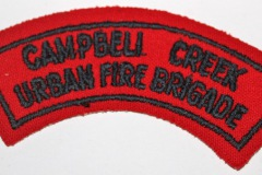 Campbell Creek Urban Fire Brigade