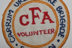 Carrum Urban Fire Brigade CFA Volunteer Fireman