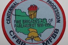 Centennial Torchlight Procession CFBB MFBB