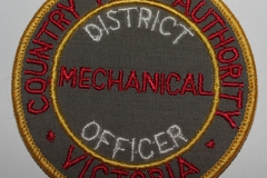 District Mechanical Officer Country Fire Authority Victoria
