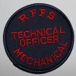 RFFS Technical Officer Mechanical