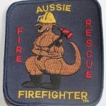 Aussie Firefighter Fire Rescue